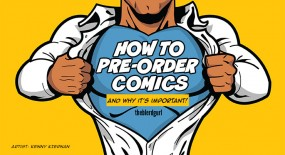 How to Pre-Order Comics and Why It's Important