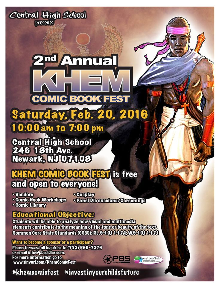 khem comicbook fest_blackcomics, comic books, theblerdgurl