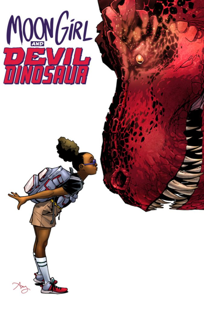 moongirl and devil dinosaur, comics, amy reeder, glyph awards, theblerdgurl