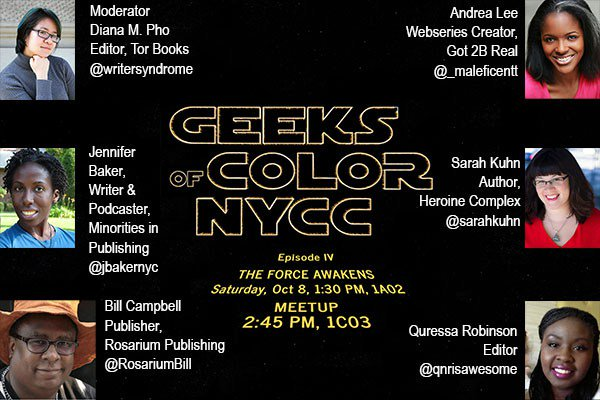 Geeks of Color_theblerdgurl_nycc_diversity