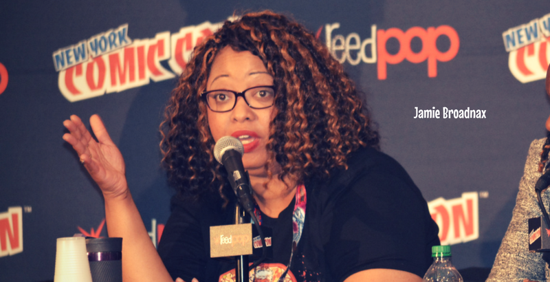JAmie Broadnax, nycc, Afropunks and Blerds, theblerdgurl