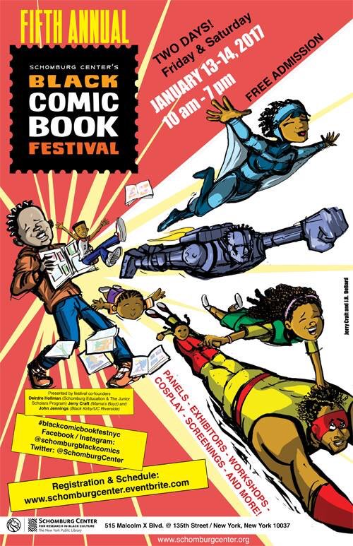 Black Comic Book Festival, theblerdgurl