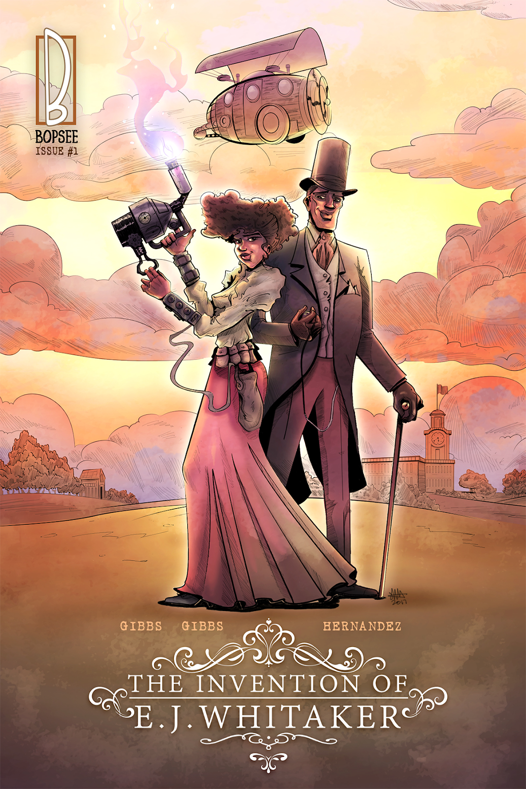 The Invention of E. J. Whitaker , theblerdgurl, the gibbs sisters