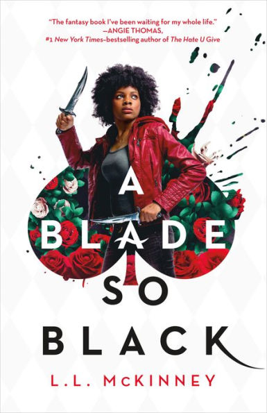 blade so black, world book day, theblerdgurl