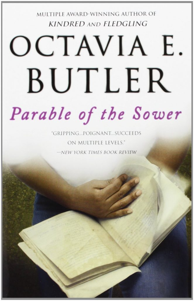 parable of the sower, world book day, octavia butler, theblerdgurl