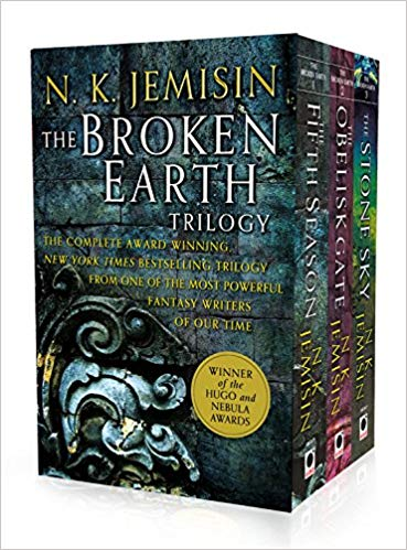 Nk Jemisin, Broken earth trilogy, world book day