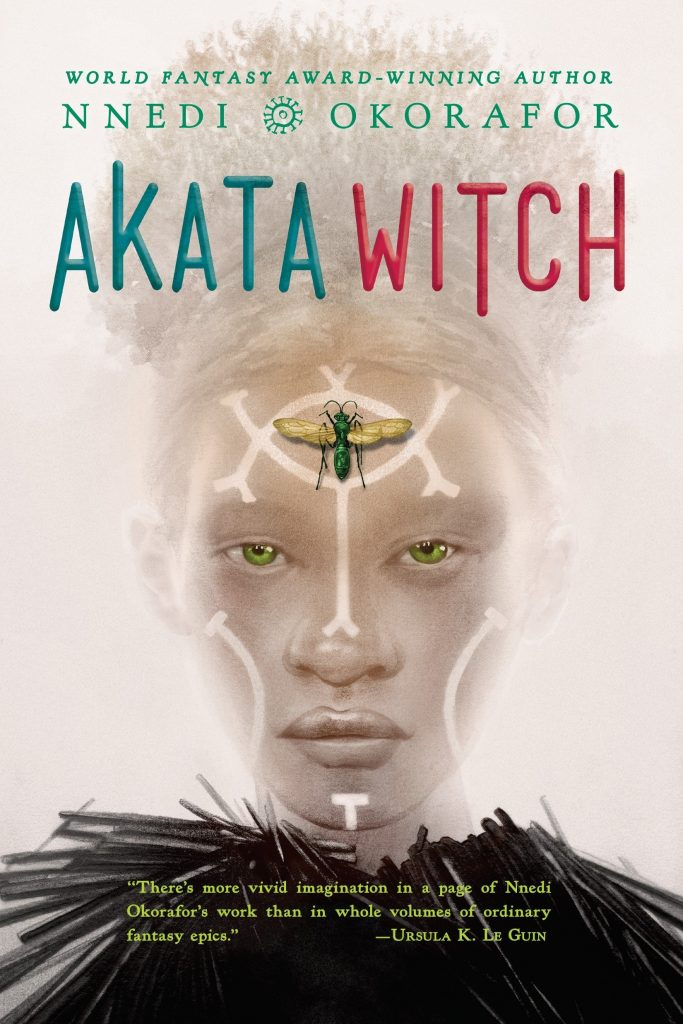 akata witch, nnedi okorafor, theblerdgurl world book day