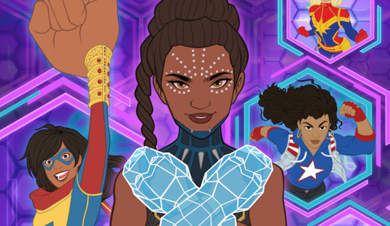 Marvel Rising: Operation Shuri, theblerdgurl