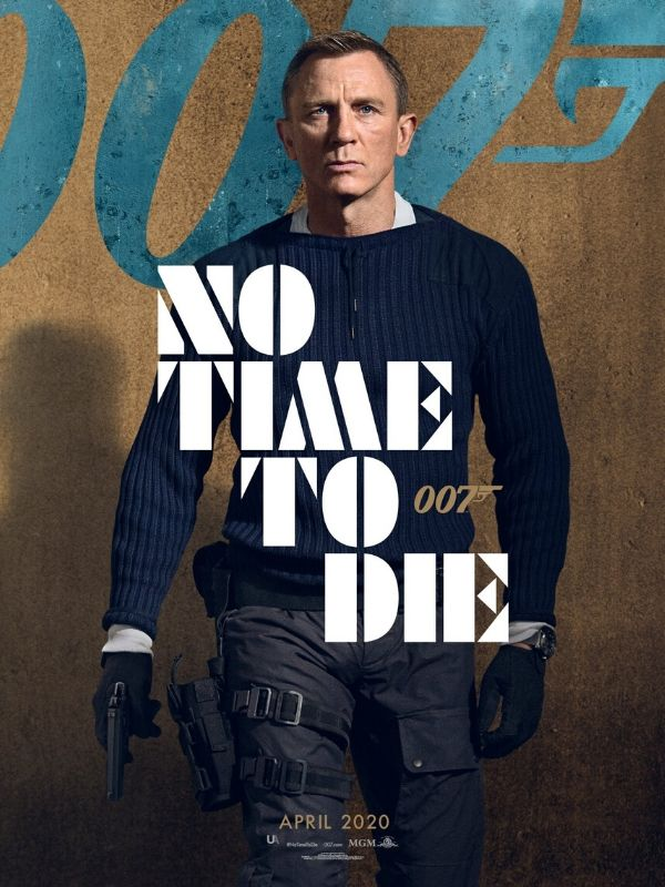 no time to die, theblerdgurl, daniel craig