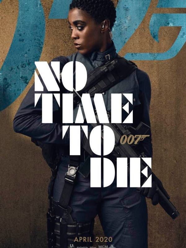 no time to die, james bond, lashana lynch