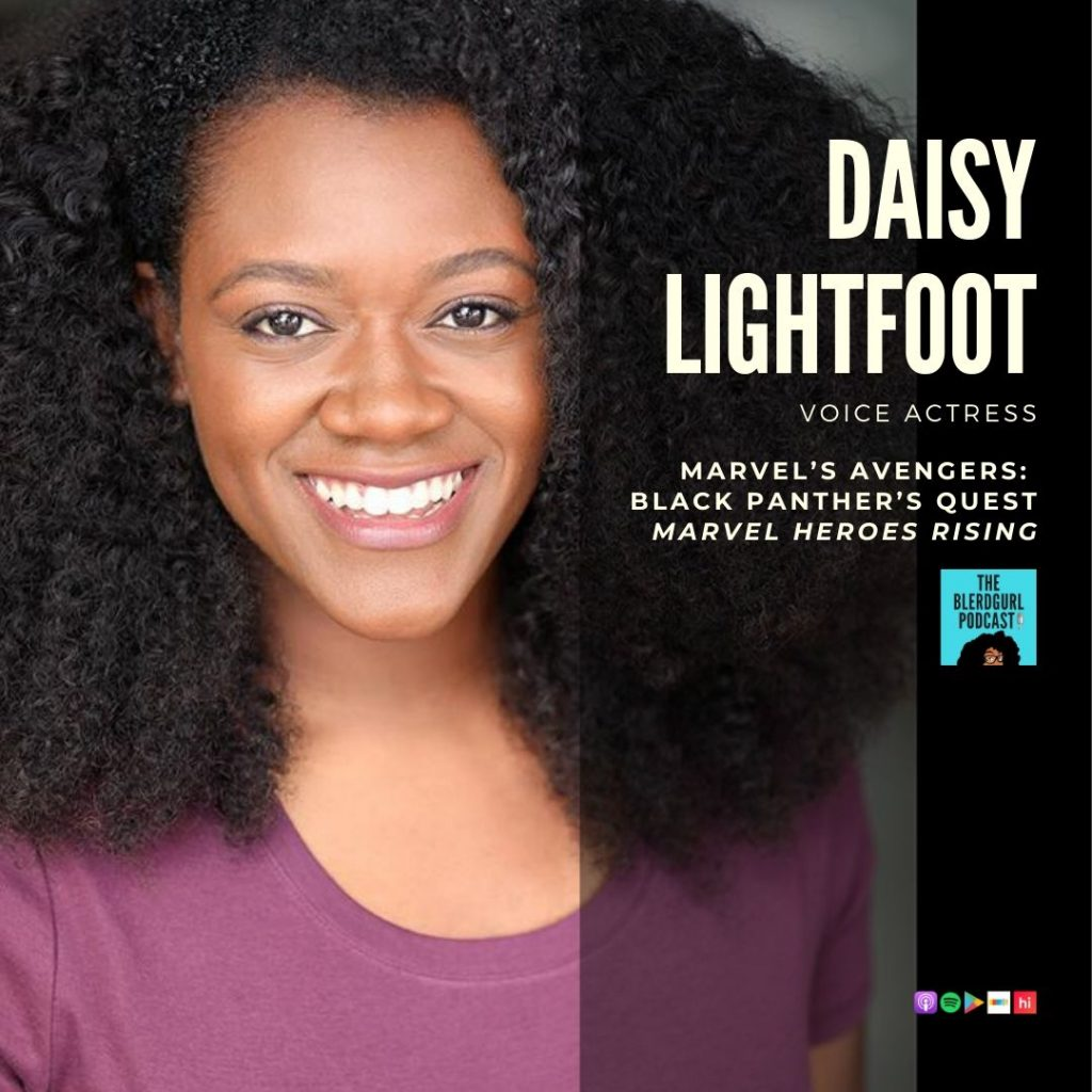 daisy lightfoot, theblerdgurl, podcast