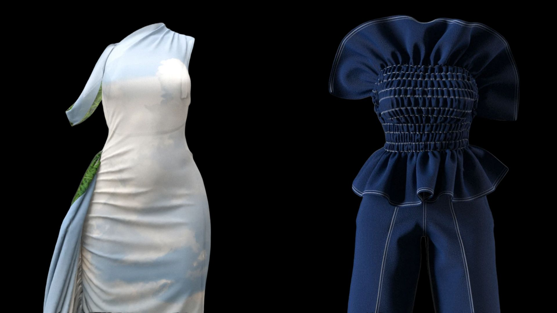 How Hanifa Used 3d Technology To Create A Stunning Fashion Show With No Runway And No Models Theblerdgurl