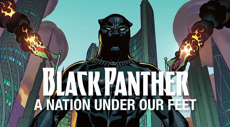 black panther, nation under our feet, marvel