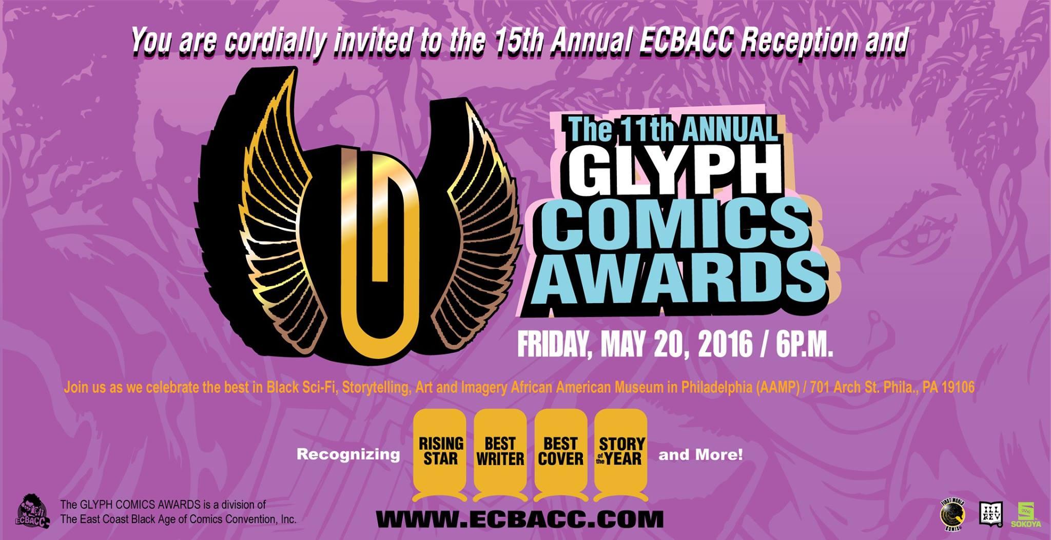 the glyph awards, ecbacc, theblerdgurl,