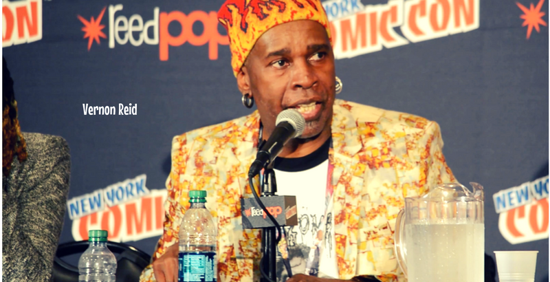 vernon reid, nycc, afropunks and blerds, theblerdsgurl, comics, art, afrofuturism