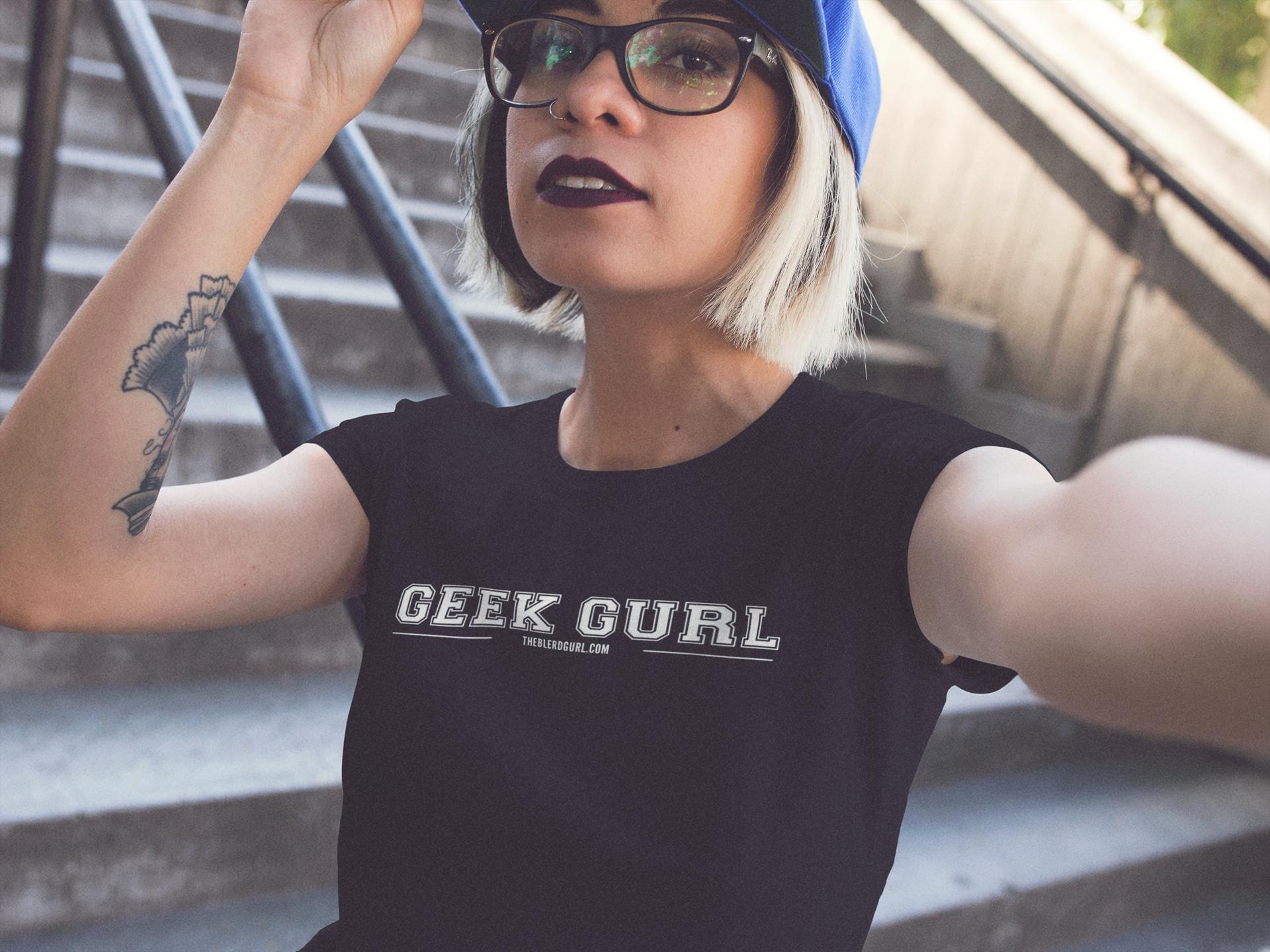 theblerdgurlshop, geekgurl, shirt