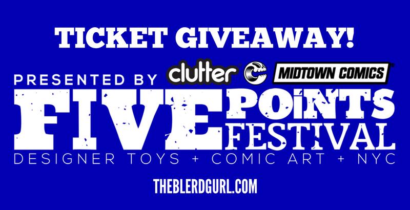 theblerdgurl, giveaway, five points fest