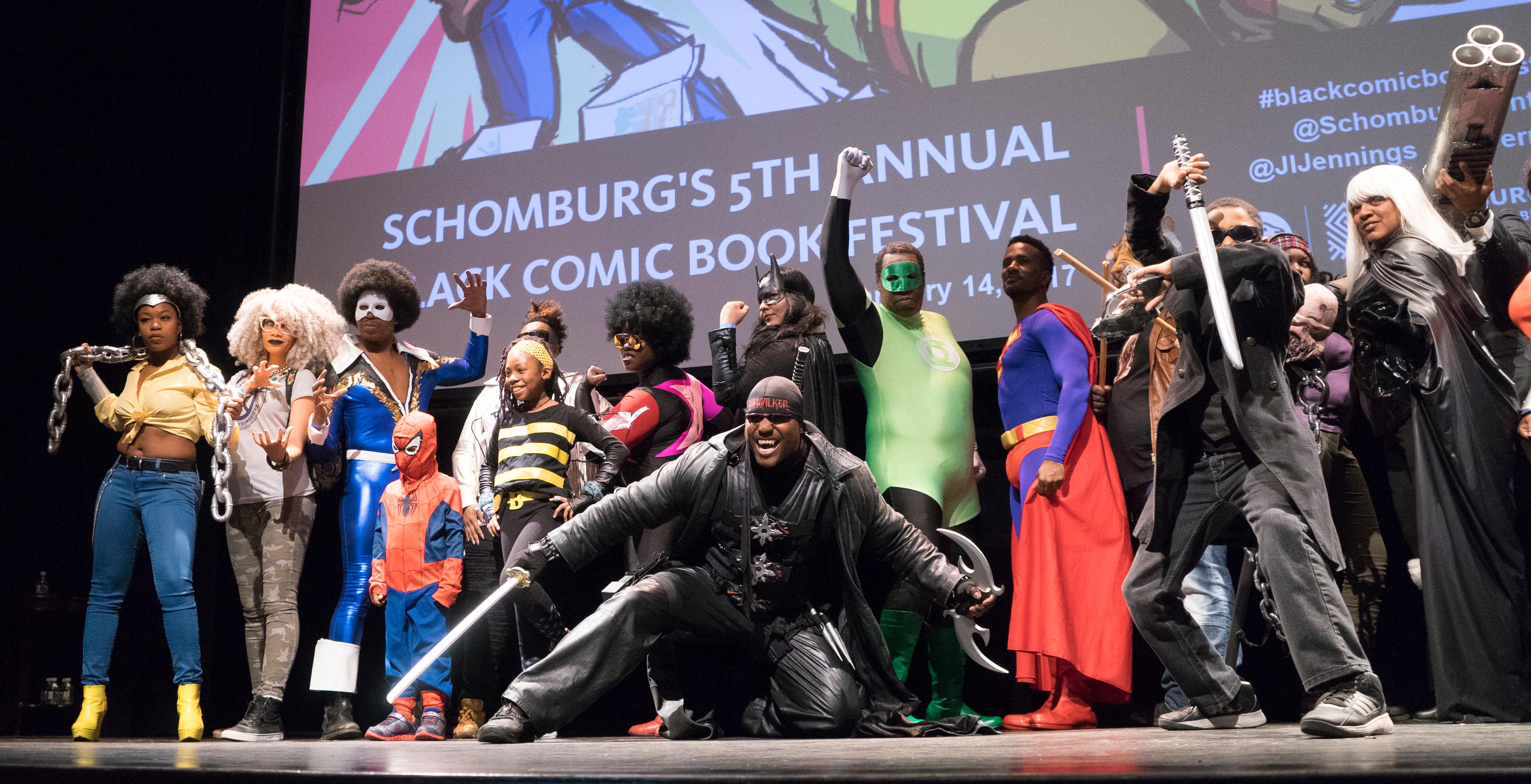 theblerdgurl_schomburg_blackcomicbookfest