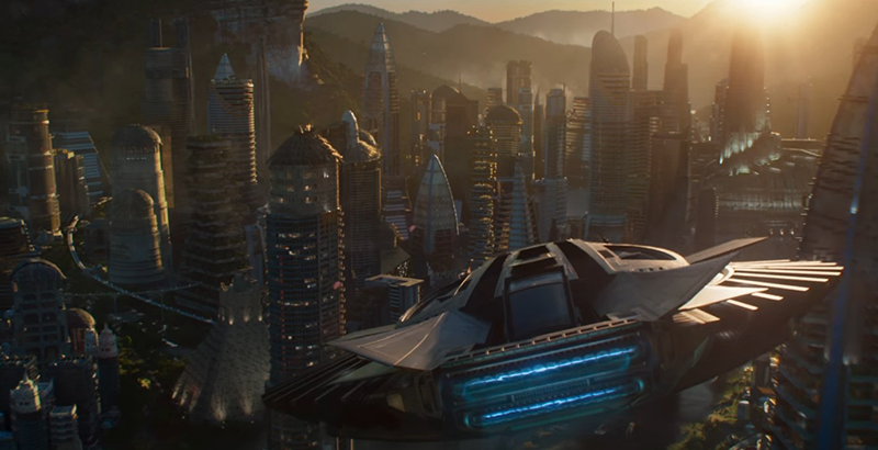 Wakanda City_theblerdgurl_Blackpanther